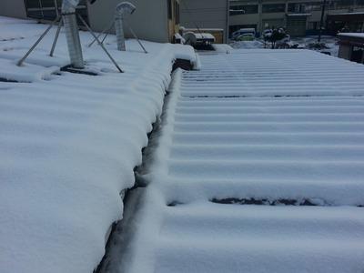 新潟県三条市の屋根外壁塗装リフォーム専門店遠藤組 折板屋根雨漏り調査