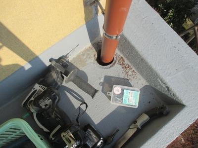 新潟県三条市の屋根外壁雨樋塗装リフォーム専門店 遠藤組 雨とい修理