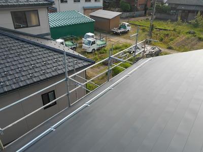 屋根が得意な板金屋 遠藤板金工業有限会社  横葺カラーGL