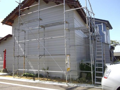 屋根外壁塗装リフォーム専門店遠藤組 サイディング貼替え