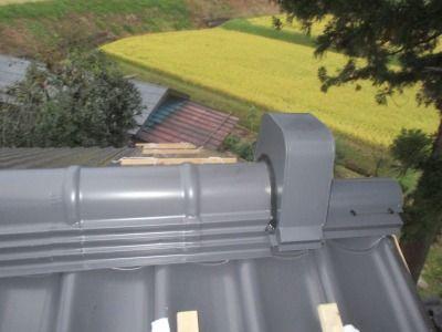 新潟県三条市の屋根外壁塗装リフォーム専門店遠藤組 かわら455(金属瓦)で屋根リフォーム