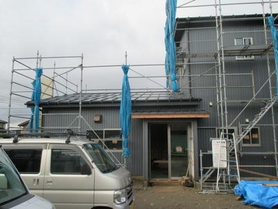 新潟県三条市の屋根外壁塗装リフォーム専門店遠藤組 外壁リフォームガルバリウム鋼板