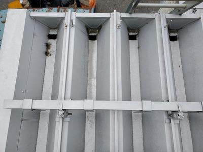 新潟県三条市の屋根外壁塗装リフォーム専門店「遠藤組」折板庇修繕工事(葺き替え)