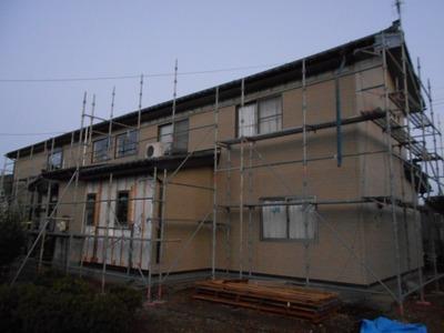 新潟県三条市の屋根外壁塗装リフォーム専門店遠藤組 外壁張り替え工事三条市大崎