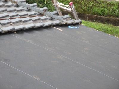 新潟県三条市の屋根外壁塗装リフォーム専門店遠藤組 屋根下葺きKCシート