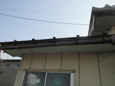 雨とい修理 新潟県三条市の屋根外壁塗装リフォーム専門店遠藤組 雨樋の修理