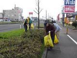 新潟長岡三条リフォーム専門店遠藤組 クリーン大作戦に参加。
