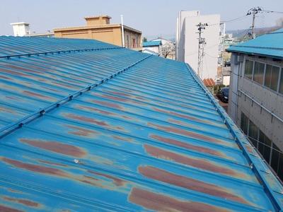 新潟県三条市の屋根外壁塗装リフォーム専門店 遠藤組 屋根カバーリング工事