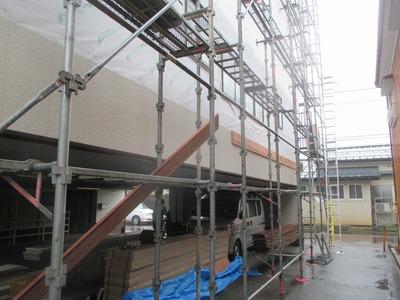 新潟県三条市の屋根外壁塗装リフォーム専門店遠藤組 三条市S様外壁張り替え工事