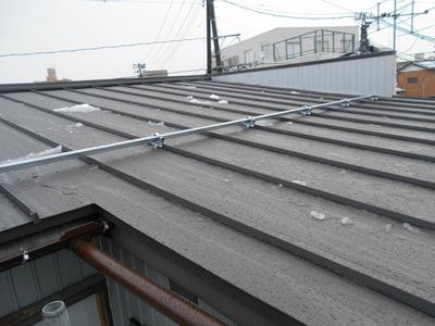 新潟県三条市の屋根専門店 遠藤組 立平ロックカラーGSL0.4mm
