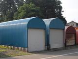 新潟県三条市屋根外壁塗装リフォーム専門店遠藤組 ドーム型車庫