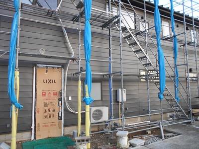 新潟県三条市の屋根外壁塗装リフォーム専門店遠藤組 外壁横葺アポロ式GL鋼板