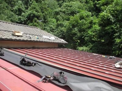 新潟県三条市の屋根工事 S式カバールーフ リフォーム遠藤組