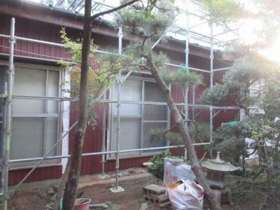 新潟県三条市の屋根外壁塗装リフォーム専門店 遠藤組 外壁リフォーム、角波カラーGL