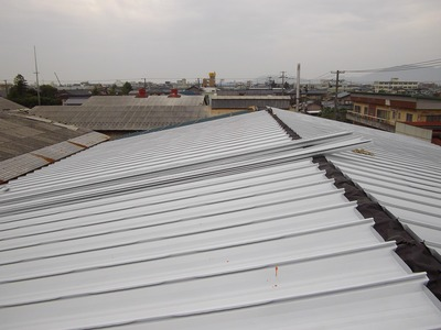 新潟三条屋根外壁塗装リフォーム専門店《遠藤組》完全な2重防水構造