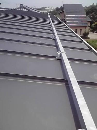 新潟 三条 屋根外壁塗装リフォーム工事専門店《遠藤組》 防水立平ロック 屋根