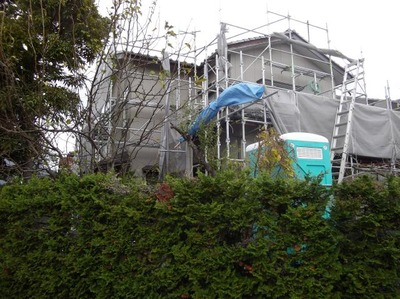 新潟県三条市の屋根外壁塗装リフォーム遠藤組 外壁貼替えアイジーサンドウェーブ