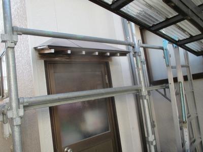 新潟県三条市の屋根外壁塗装リフォーム専門店遠藤組 窯業系サイディングの部分張り替えです