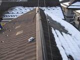 新潟県三条市屋根外壁リフォーム専門店遠藤組 燕市A様アンテナ立てと瓦屋根点検
