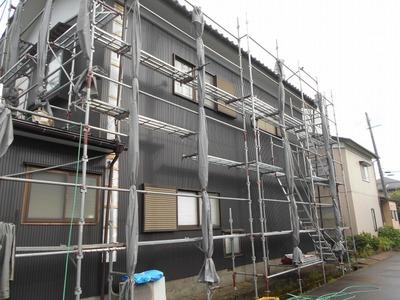 新潟県三条市の屋根外壁塗装リフォーム専門店遠藤組 SS333角波カラーGL