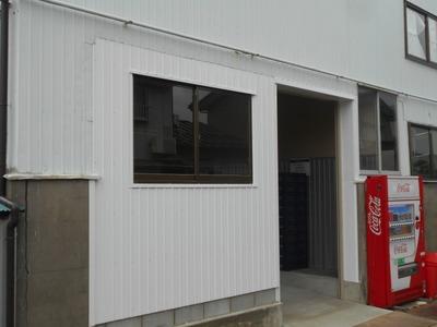 新潟県三条市の屋根外壁塗装リフォーム専門店遠藤組 開口部の変更に伴なう外壁納め