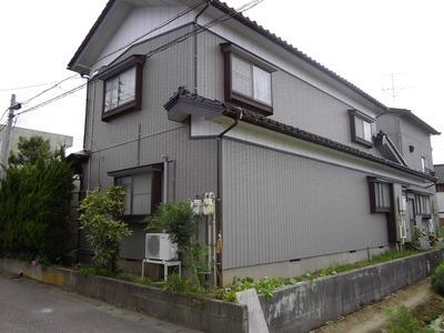 新潟県三条市屋根外壁塗装リフォーム専門店《遠藤組》アイジ—サイディングで再生