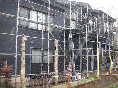 見附市の住宅外壁リフォームサイディング張り替え