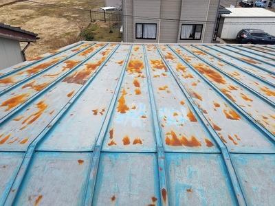 新潟県三条市の屋根外壁塗装リフォーム専門店遠藤組 鉄骨造工場屋根外壁リフォーム工事