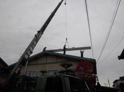 新潟 三条 屋根外壁塗装リフォーム専門店《遠藤組》 ガルバリウム鋼鈑で屋根カバー