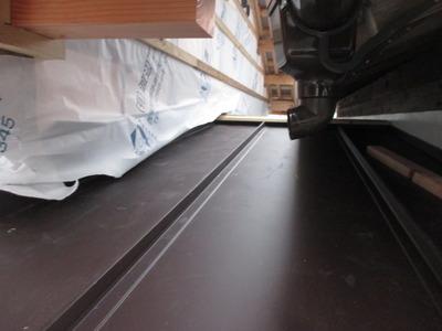 新潟県三条市の屋根外壁雨樋リフォーム 遠藤板金工業有限会社 立平ロックの施工