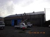 新潟屋根外壁塗装リフォーム専門店《遠藤組》スレート屋根をガルバリウム鋼鈑でカバー