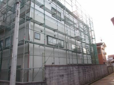 新潟県三条市の屋根外壁塗装リフォーム専門店遠藤組 鉄骨建物外壁貼り換え工事