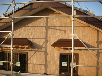 新潟県三条市屋根外壁塗装リフォーム専門店《遠藤組》 ニチハサイディングで外壁貼