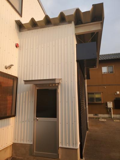 新潟県三条市の屋根外壁塗装専門店『遠藤組』燕市S社様工場増築工事