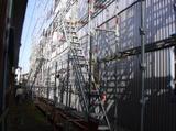 三条市 K様倉庫の外壁角波ガルバリウム鋼板の貼り替え
