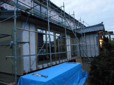 新潟県三条市の屋根外壁塗装リフォーム専門店遠藤組 三条市大崎のW様邸外壁張り替え工事