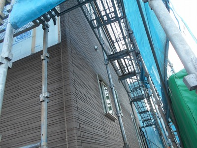 遠藤板金工業 外壁 窯業系横張り