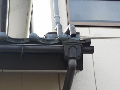 新潟県三条市の屋根外壁塗装リフォーム専門店遠藤組 雨樋修理(部分的)