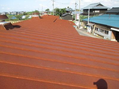新潟県三条市の屋根外壁塗装リフォーム専門店《遠藤組》 屋根工事始まります。