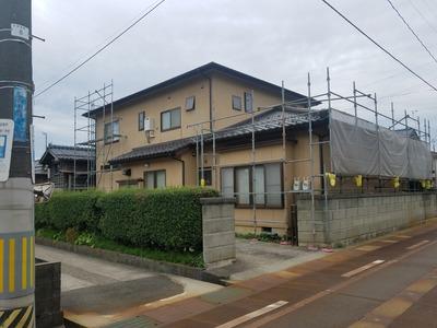 新潟県三条市の屋根リフォーム工事