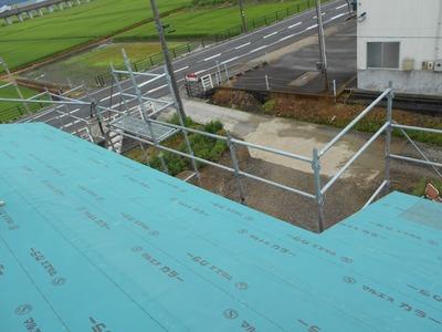 新潟県三条市の屋根外壁塗装リフォーム専門店遠藤組 新築屋根工事