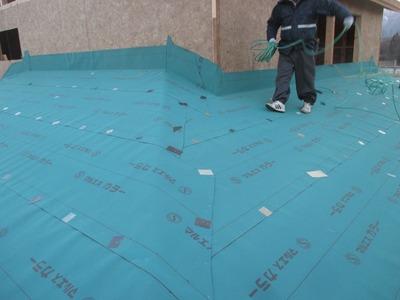 新潟県三条市の屋根外壁塗装リフォーム専門店遠藤組 弥彦村新築屋根工事