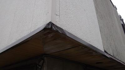 新潟県三条市の屋根外壁塗装リフォーム専門店遠藤組 見切の修理