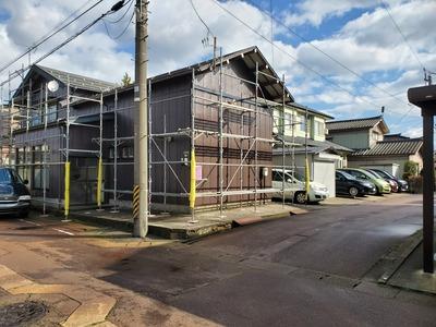 新潟県三条市の屋根外壁塗装リフォーム専門店『遠藤組』K様邸外壁塗装工事
