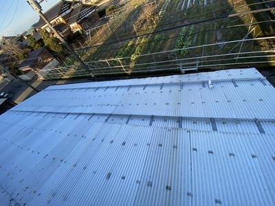 新潟県三条市の屋根外壁塗装リフォーム専門店『遠藤組』 雪止め金具、アングル取り付け
