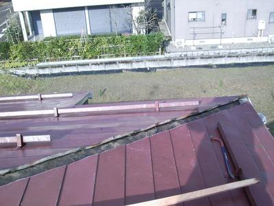 新潟県三条市のアパート屋根雨漏り修理