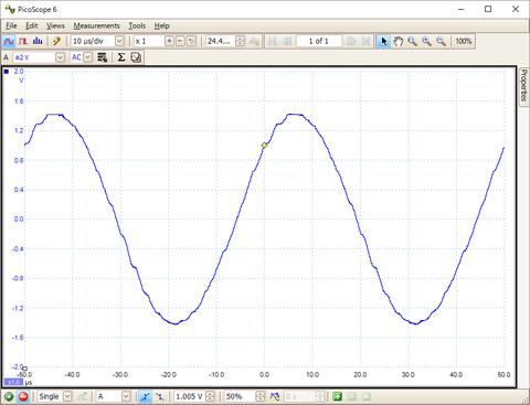 20KHz-正弦波