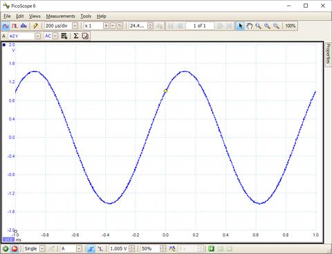 1KHz-正弦波