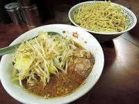 15/03/18め二郎 小つけ麺(ニンニク少なめ、野菜)4