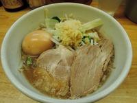 15/06/16らーめんきじとら つけめん(ニンニク、生姜)04